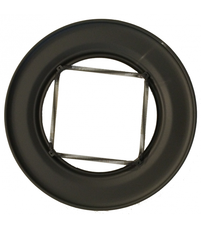 tube de raccordement noir mat rosace ressort. Black Bedroom Furniture Sets. Home Design Ideas