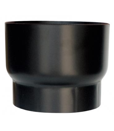 Tube de raccordement noir mat r duction pour raccordement for Feuille de mica pour poele a bois