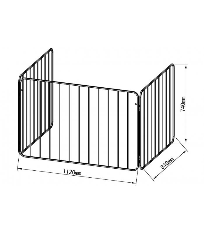 Grille de protection grille de s curit - Barriere securite poele ...