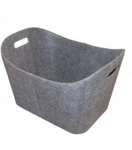 Porte bûche gris