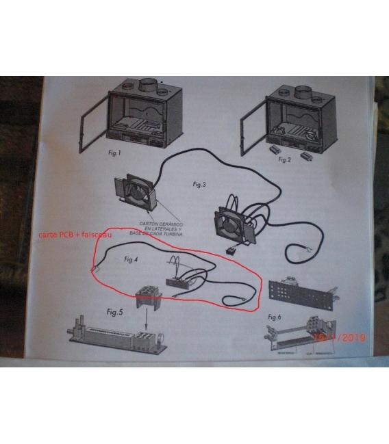 carte PCB Panadero oxford avec cablage