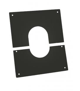 Double paroi pellets plaque de propreté 400x400mm
