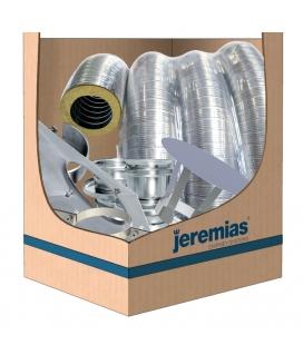 Kit tubage flexible isolé 8m Ø80 - 100 - 150mm