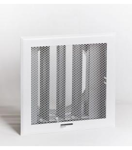 Grille de diffusion d'air métal déployé