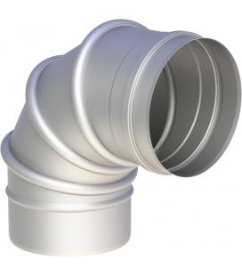 Coude orientable 0-90° inox 6/10è