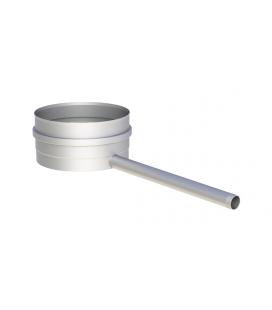 Tampon avec purge latérale inox 6/10è